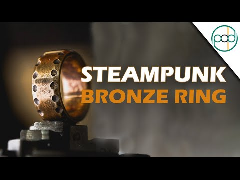 DIY Steampunk Ring out of Bronze