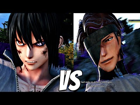 Jump Force - Sasuke Vs Aizen 1vs1 Gameplay & Special Interaction (ps4 Pro)