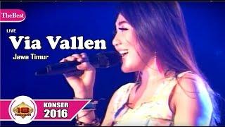 Mantap Jiwaa .. Via Vallen bikin Heboh para fansnya .. (Live Konser Jawa Tengah 19 Maret 2016)