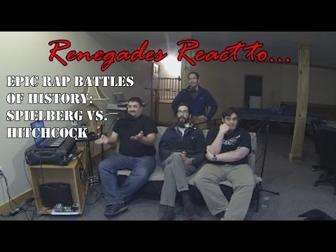 Renegades React to... Epic Rap Battles of History Spielberg vs. Hitchcock