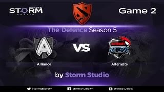 Alternate Attax vs Alliance, game 2