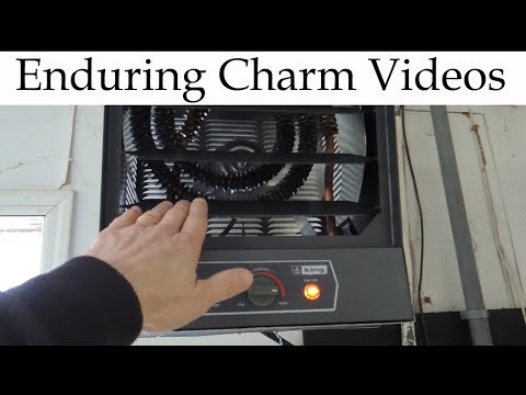 Garage Electric Heater Install And Review