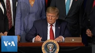 Trump Forgives Student Loan Debt for Disabled Veterans
