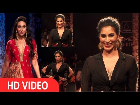 Karishma Kapoor I Sophie Choudry Showstopper At LFW 2016