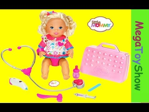 Little Mommy Doctor mommy Fisher Price Doll [baby toys video]