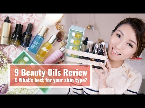 9 Beauty Oils Review & What's best for your skin type?