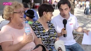 FSM TV: as famílias vieram feirar