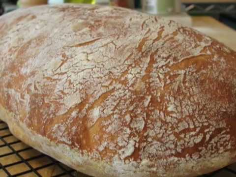 How to Make No-Knead Ciabatta Bread – Amazing Italian Bread