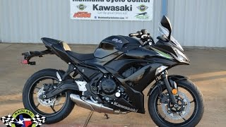 7. $7,399:  2017 Kawasaki Ninja 650 in Metallic Spark Black Overview and Review