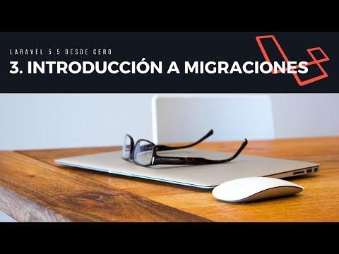 3. Introducción a migraciones
