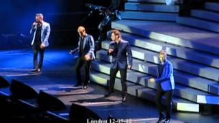 Westlife full aint that a kick in the head london 12-05-12