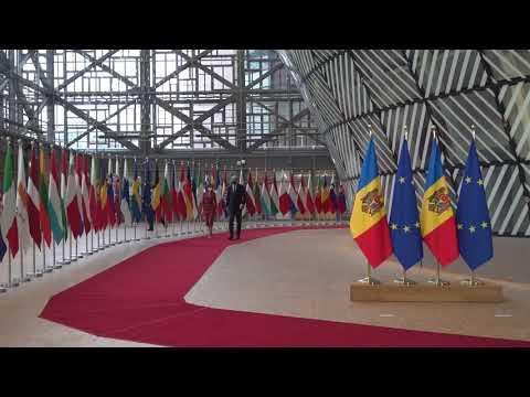 """Președintele Maia Sandu la întrevederea cu Charles Michel, președintele Consiliului European: """"Suntem un popor european, cu vocație europeană și viitor european"""""""