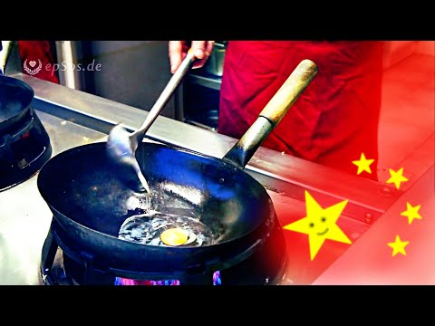 Chinese Wok Kitchen for 2 Cooks. (видео)