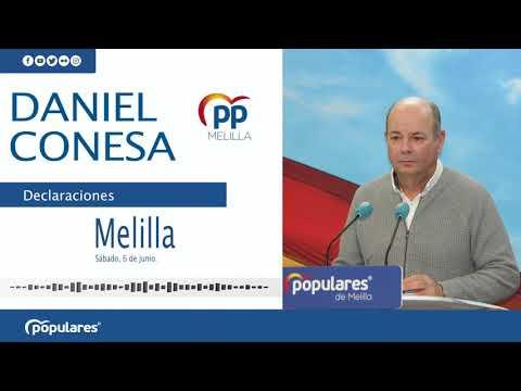 Al PP le preocupa el futuro de las comunicaciones marítimas y aéreas entre Melilla y la Península