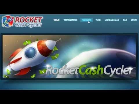 Rocket Cash Cycler Review 1: List Building Software, Personal Development & Wealth Builder