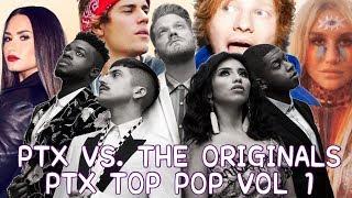 PENTATONIX VS. THE ORIGINAL   PTX TOP POP VOL.1 EDITION