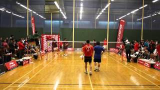 2013 Li-Ning Kason Dave Freeman Open Badminton Classic A Level Men's Double FINALS 1080P HD