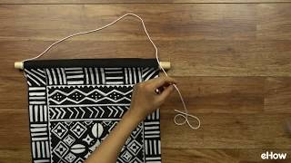 Make your own trendy mudcloth wall hanging on the cheap with your free printable and this easy to follow tutorial: http://www.ehow.com/how_12343918_diy-mudclothinspired-wall-hanging-tutorial.html