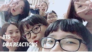 Video 《BTG》 BTS DNA REACTIONS MP3, 3GP, MP4, WEBM, AVI, FLV Mei 2018