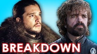 "We breakdown the preview of Game of Thrones Season 7 episode 3 titled ""The Queen's Justice"" The episode will air Sunday July ..."