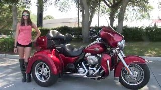 1. 2013 Harley Davidson Triglide Ultra Trike for sale FL