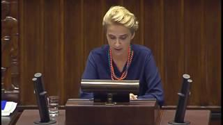 Joanna Scheuring Wielgus w nocy w Sejmie przeczołgała PiS.