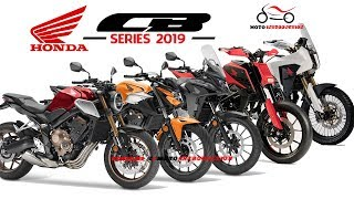 6. Best New Honda CB Series Model 2019 | New Honda Supersport Motorcycles 2019