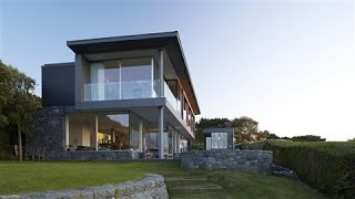 Alex and Andrew Haining's home on the island of Guernsey, about 90 miles off the south coast of Britain, has views of the island's coastline, a trio of nearb...