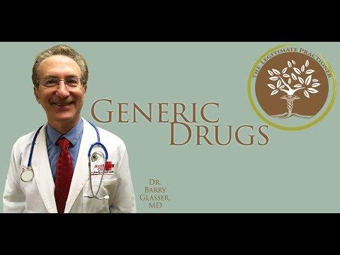 Generic vs. Name brand drugs
