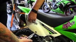1. 2012 Kawasaki KLX110L How To Install A Battery
