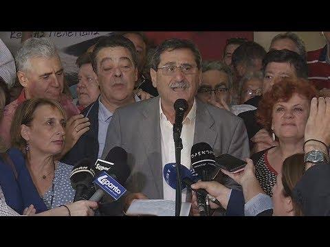 Δηλώσεις του Κ. Πελετίδη για το αποτέλεσμα των εκλογών στη Πάτρα