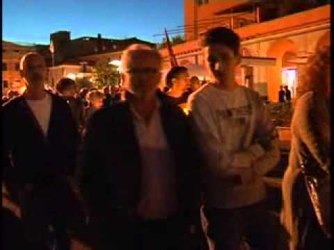 IMPERIA : FIACCOLATA PER I PASTIFICIO AGNESI
