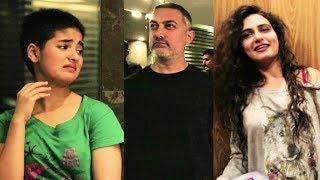 Video Aamir Khan Being REAL HAANIKAARAK BAPU To Fatima, Zaira, Sanya, Suhani | Behind The Scenes Of DANGAL MP3, 3GP, MP4, WEBM, AVI, FLV Januari 2019