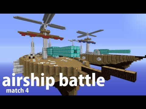 airship - SERVER IP: megapvp.com Felt like pushing out another airship video. I'm working on an automated airship server series, look at for that here. Match 3: http:/...