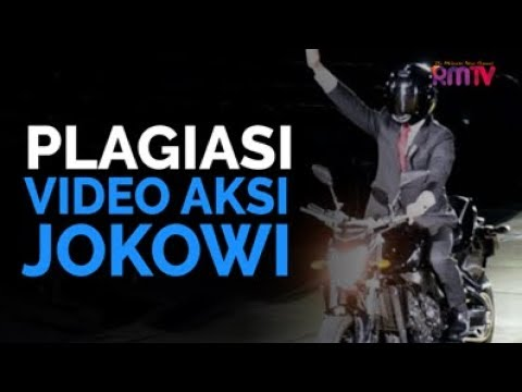 Plagiasi Video Aksi Jokowi