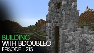 Minecraft :: Castle Wall Tower End Thingy on the End :: Building with BdoubleO :: Episode 215