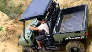 4. Polaris Ranger XP 700 Demonstration Hungary
