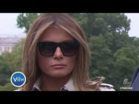 Is Melania Trump Using A Body Double? | The View
