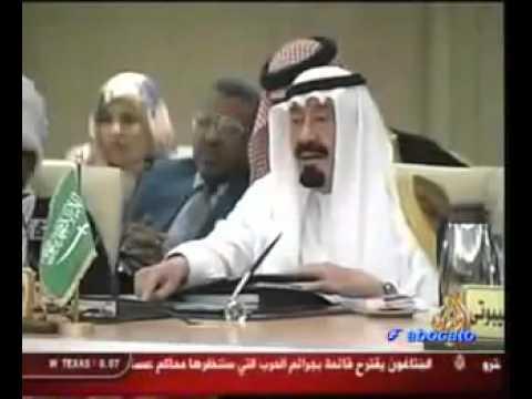 التهديد الصريح في انهاء حياة القذافي