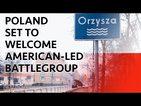 Poland Set to Welcome American-led ...