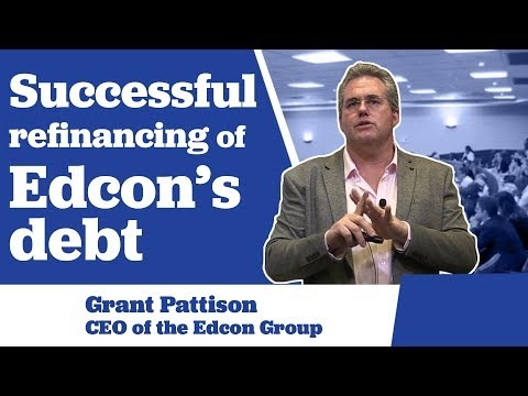 Successful refinancing of Edcon's Debt