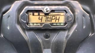 7. 2015 Can Am Outlander 450 L top speed run