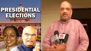 BJP president Amit Shah congratulates Ram Nath Kovind on becoming President of IndiaSUBSCRIBE to India TV Here: http://goo.gl/fcdXM0Follow India TV on Social Media:Facebook: https://www.facebook.com/indiatvnewsTwitter: https://twitter.com/indiatvnewsDownload India TV Android App here: http://goo.gl/kOQvVBFor More Videos Visit Here:http://www.indiatvnews.com/video/