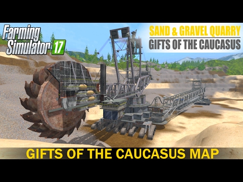 MAP GIFTS OF THE CAUCASUS V FS Maps Farming Simulator - The caucasus map