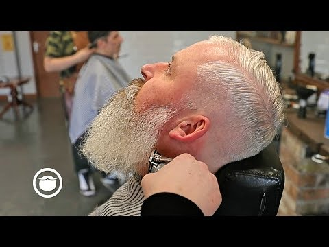 Beard styles - Low Fade for Thin Hair & Beard Trim Without Losing Length