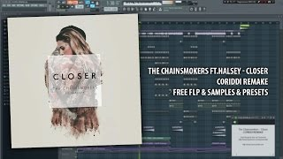 Video The Chainsmokers - Closer [CORIDDI BEST REMAKE EVER FREE FLP + SAMPLES + PRESETS] download in MP3, 3GP, MP4, WEBM, AVI, FLV Februari 2017