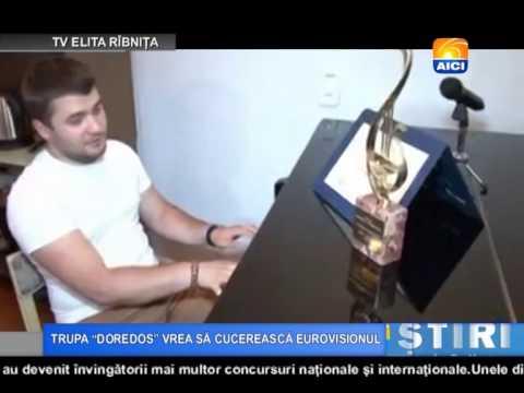 AICI TV TRUPA DOREDOS VREA SĂ CUCEREASCĂ EUROVISIONUL