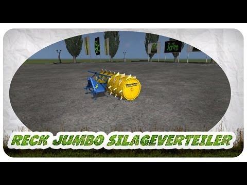 Reck Jumbo silage distributor v1.0 MR