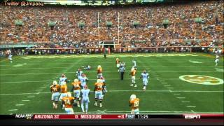 Tyler Bray vs Florida (2012)