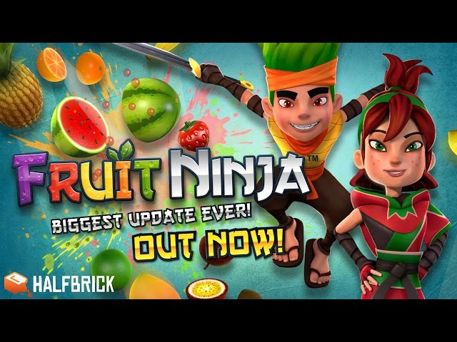 Fruit Ninja reborn! New characters, powers and more!